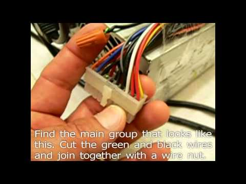 Converting PC Power Supply 3.3v Electrolytic Silver Cell