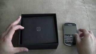 Official Blackberry Bold 9900 Unboxing - (1080p HD)