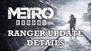 Metro Exodus - Ranger Update Details (New Game +, New Achievements, & Challenges)