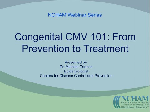 Congenital CMV 101: From Prevention to Treatment | Presented by Dr. Michael Cannon