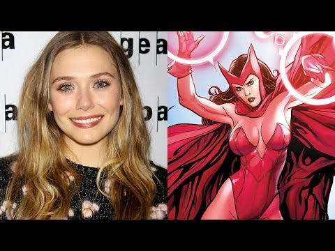 Elizabeth Olsen Confirms AVENGERS: AGE OF ULTRON Role