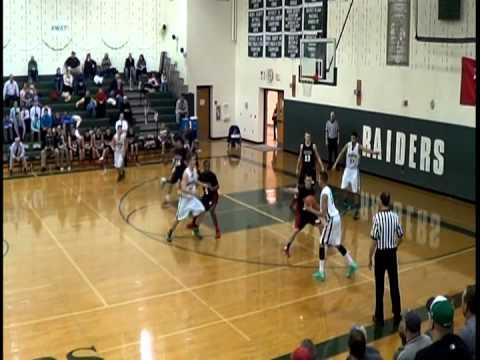 Twin Valley High School (white) vs. Schuylkill Valley High School (black) 2013-2014 season.