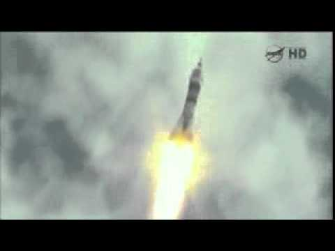 Russian Soyuz launches from Kazakhstan