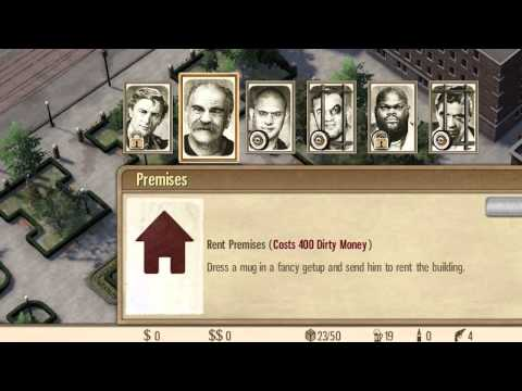 Omerta - City of Gangsters - Free Update Trailer (ESRB)