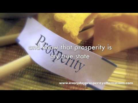The Prosperity Prayer - Prosperity Affirmations