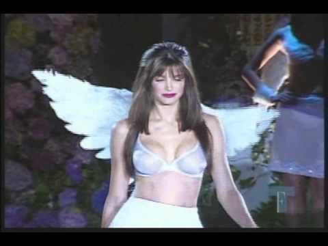 Stephanie Seymour on the Catwalk