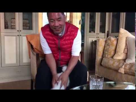 郭文贵6月27日  应推友们的要求和狗狗snow的视频