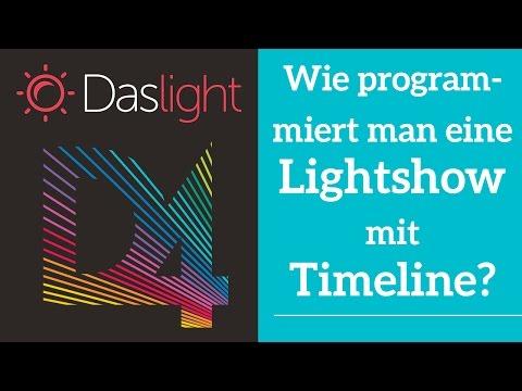 Wie programmiert man eine Lightshow mit Timeline? | Daslight 4 DVC4 Videotutorial