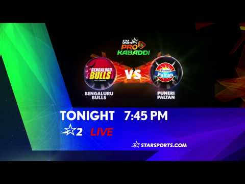 Bengaluru Bulls Vs Puneri Paltan - 27th July