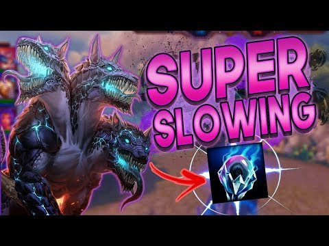Smite: Cerberus SUPER SLOWING Build - I WILL TRY TO SOLO CARRY!