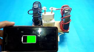 how to make free energy mobile phone charger with magnets new experiment