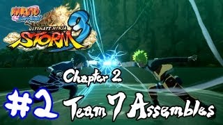Naruto Shippuden The Movie: 6 - Naruto Shippuden: Ultimate Ninja Storm 3 'Chapter 2: Team 7 Assembles Movie' TRUE-HD QUALITY