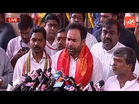 Telangana BJP MLA Kishan Reddy Speaks at Secunderabad Ujjaini Mahankali Boanlu 2018 | YOYO TV