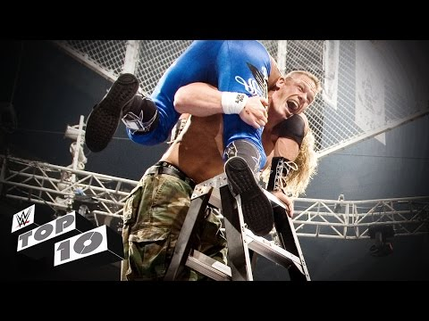 The Most Insane Tlc Match Moments - Wwe Top 10 video