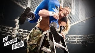 The Most Insane TLC Match Moments - WWE Top 10