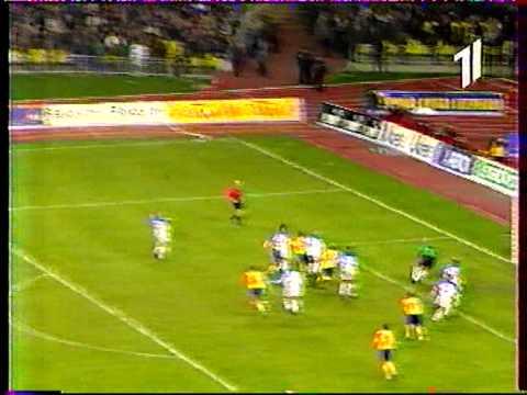 Росія - Україна 1999 (1-1) гол Шевченка (УТ-1) LIVE