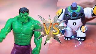 Hulk VS Ben10 Toys for Kids