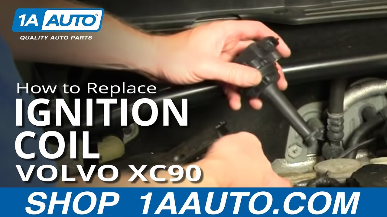 How To Install Replace Ignition Coil Volvo Xc90 2 5t