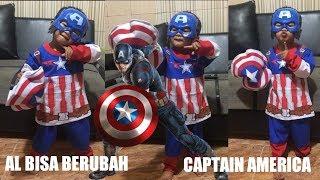 Berubah Jadi Captain America - AL Dizzar
