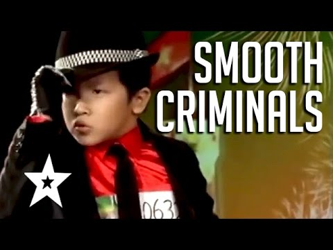 Smooth Criminals! Top 5 Amazing Michael Jackson Tributes | Got Talent Global