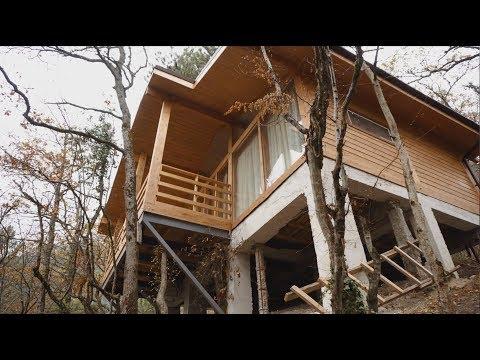 Дом из бруса. ФАХВЕРК. Во что он превратится через несколько лет дом из ДЕРЕВА В КРЫМУ