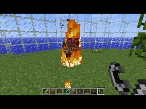 Grims Mods - RPG Damage Mod 1.2.5 Minecraft Mod Review and Tutorial