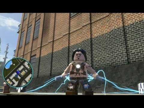 LEGO Marvel Super Heroes - Unlocking Whiplash + Gameplay (Character Token Guide)