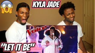"Download Lagu The Voice 2018 Kyla Jade - Semi-Finals: ""Let It Be"" (REACTION) Gratis STAFABAND"