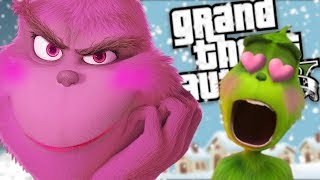 THE NEW GRINCH GETS A GIRLFRIEND MOD (GTA 5 PC Mods Gameplay)