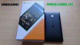 Unboxing Nokia Lumia 435