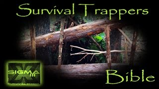 The Survival Trappers Bible Part 4 Large Timber Deadfall