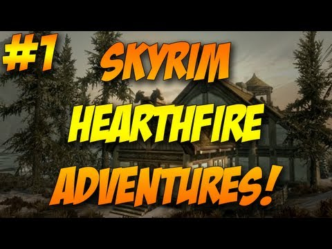 Skyrim Hearthfire Adventures l Ep. 1 l Creating My House! w/ TheFamousFilms