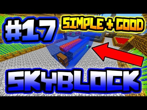 BEST SIMPLE AUTO GENERATOR ON SERVER!! | Server SkyBlock In Minecraft #17