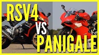 Ducati Panigale vs Aprilia RSV4 – Motorevue