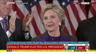 Hillary Clinton's concession speech
