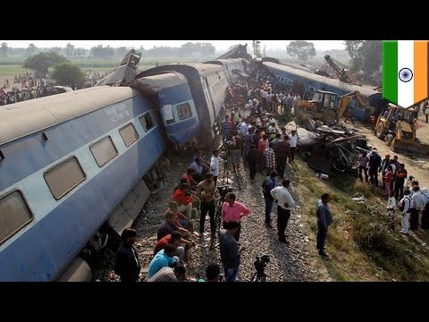 India train crash: 120 dead, 200 injured after Indore-Patna Express derails near Kanpur - TomoNews