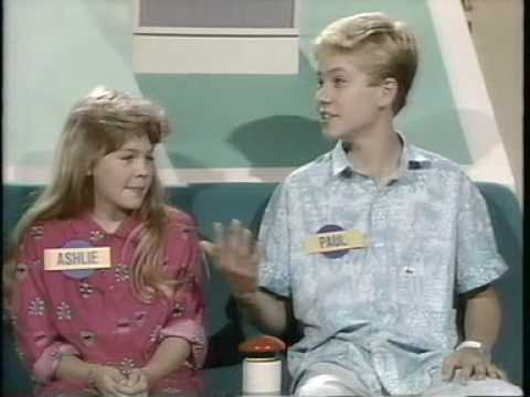 I'm Telling Kids Game Show w/ Paul Walker Pt 1