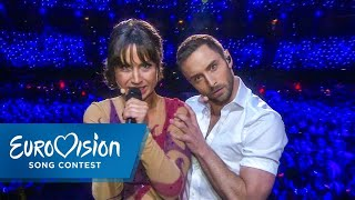 Love, Love, Peace, Peace - Måns Zelmerlöw and Petra Mede create the perfect Eurovision Performance |