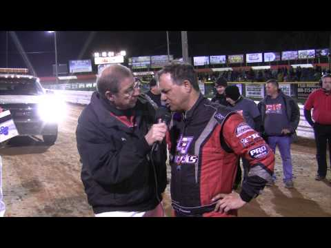 Lincoln Speedway 410 Sprint Car Victory Lane 4-11-15