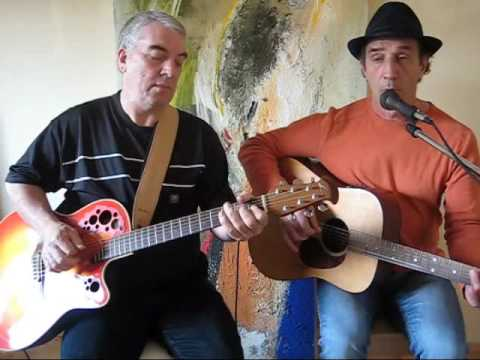Eric Clapton unplugged Before you accuse me covered by Pino and David
