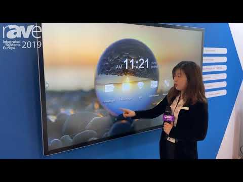 ISE 2019: Touch Systems & Displays Presents BOSSHUB Touch Solution for Office Environments