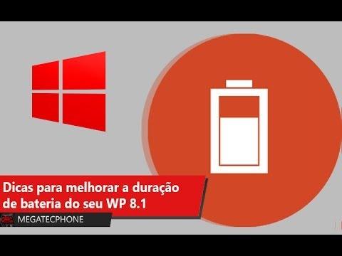 Dicas para Melhorar sua Bateria no Windows Phone 8.1
