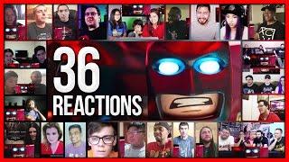 THE LEGO BATMAN MOVIE Comic-Con Trailer Reactions Mashup