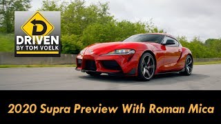 2020 Toyota Supra Preview With TFL's Roman Mica