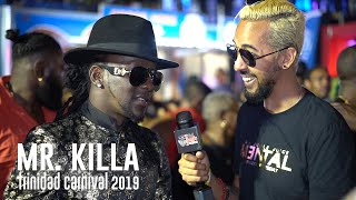 Mr. Killa Interview at Machel Monday | Run Wid It // Trinidad Carnival 2019
