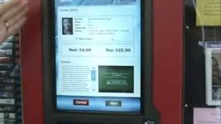 TNT Video DVD Kiosk: How to operate