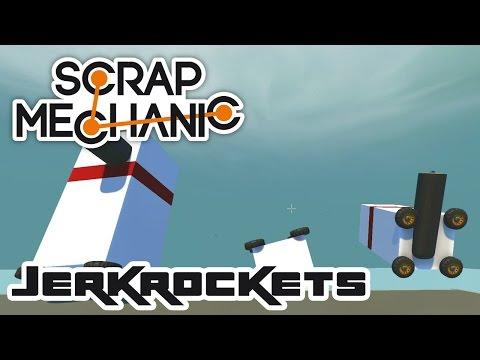 Jerkrockets: Versus! - Let's Play Scrap Mechanic Multiplayer - Part 280