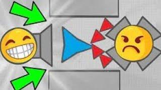 SUPER FUNNY FAILS!!! DIEP.IO 2!!!!