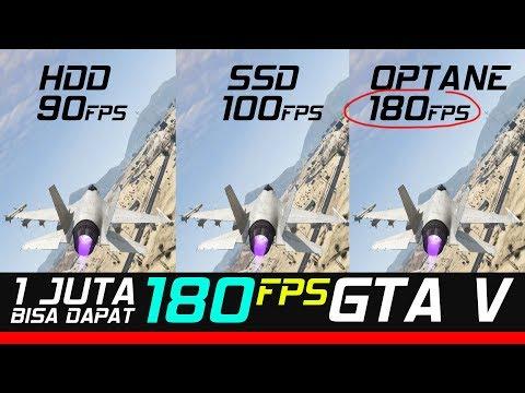 HDD vs SSD vs HDD+INTEL OPTANE TEST & Cara install nya