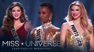 Miss Universe 2019 Top 3 Question and Answer Round | Miss Universe 2019